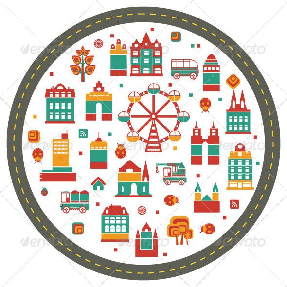 Ferris Wheel - Miscellaneous Characters