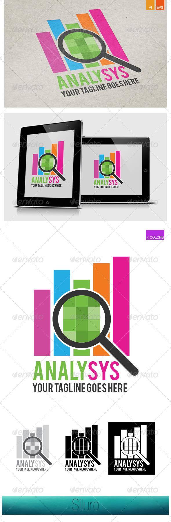 Analysys Logo - Symbols Logo Templates