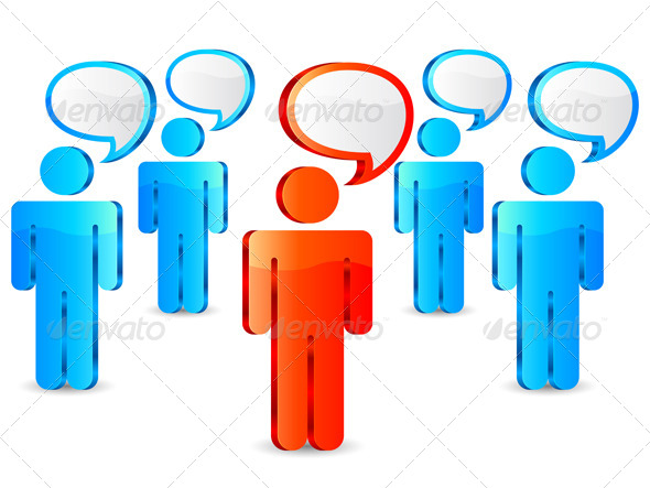 Leadership Concept - Conceptual Vectors