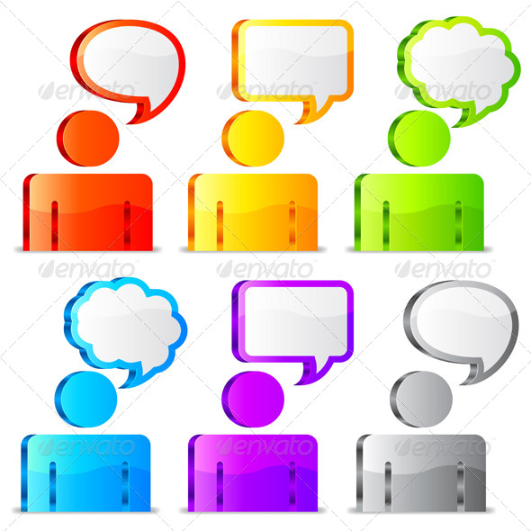 Speech Icons - Communications Technology