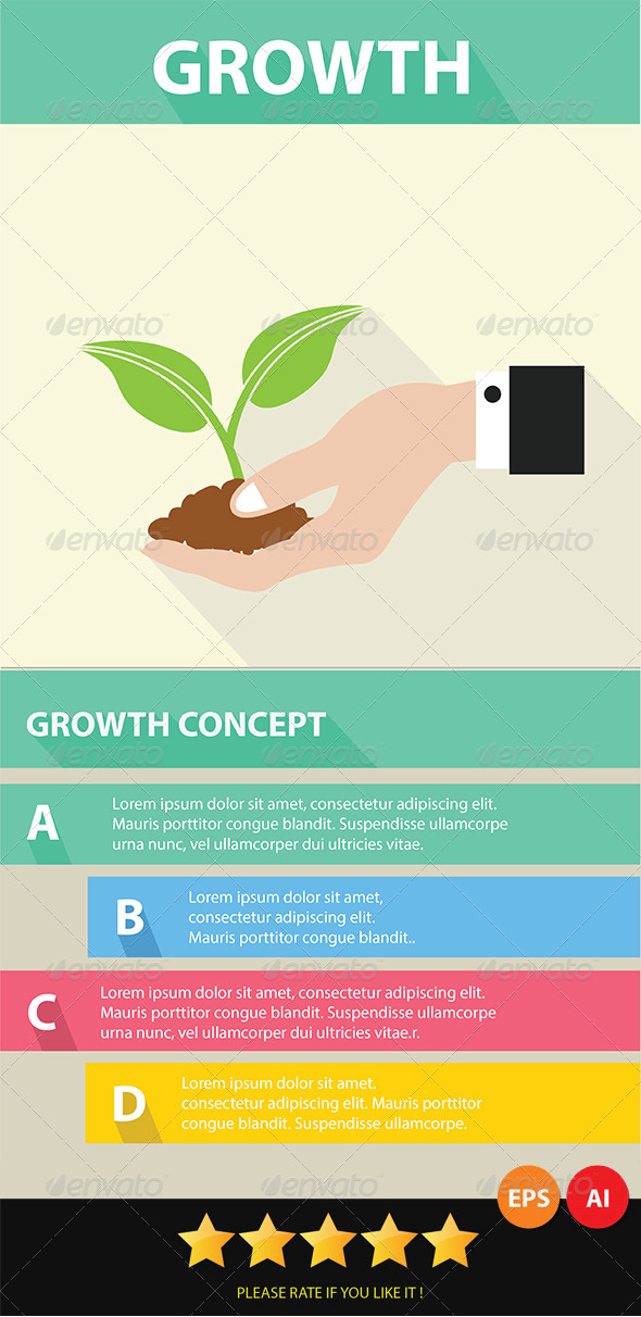 Growth Concept - Conceptual Vectors