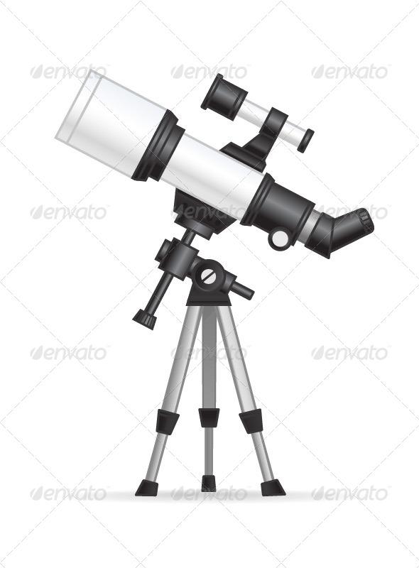 Telescope  - Objects Vectors