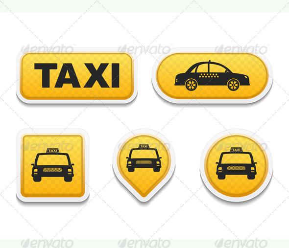 Taxi - Miscellaneous Vectors