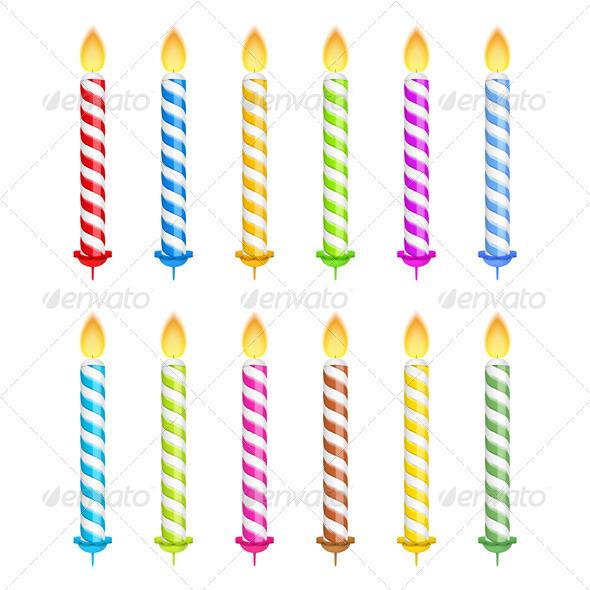 Birthday Candles - Seasons/Holidays Conceptual