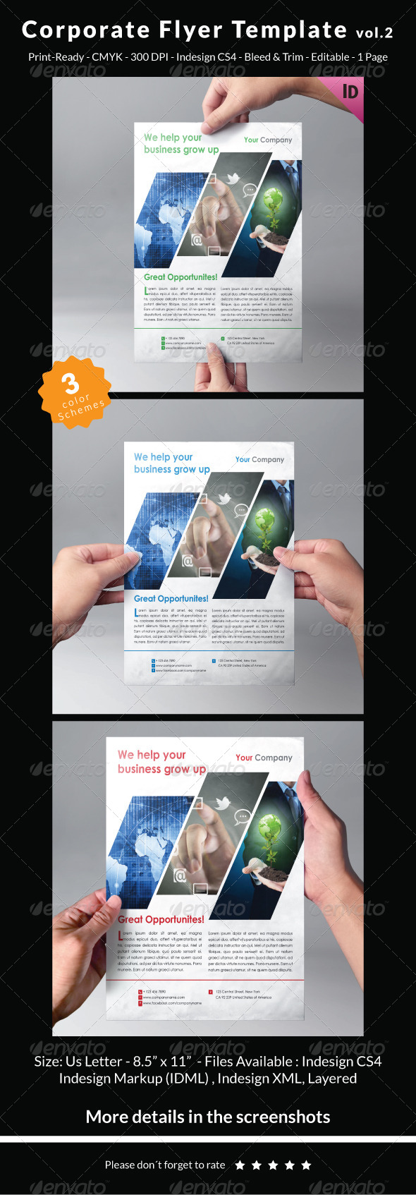 Corporate Flyer Template Vol.2 - Corporate Flyers