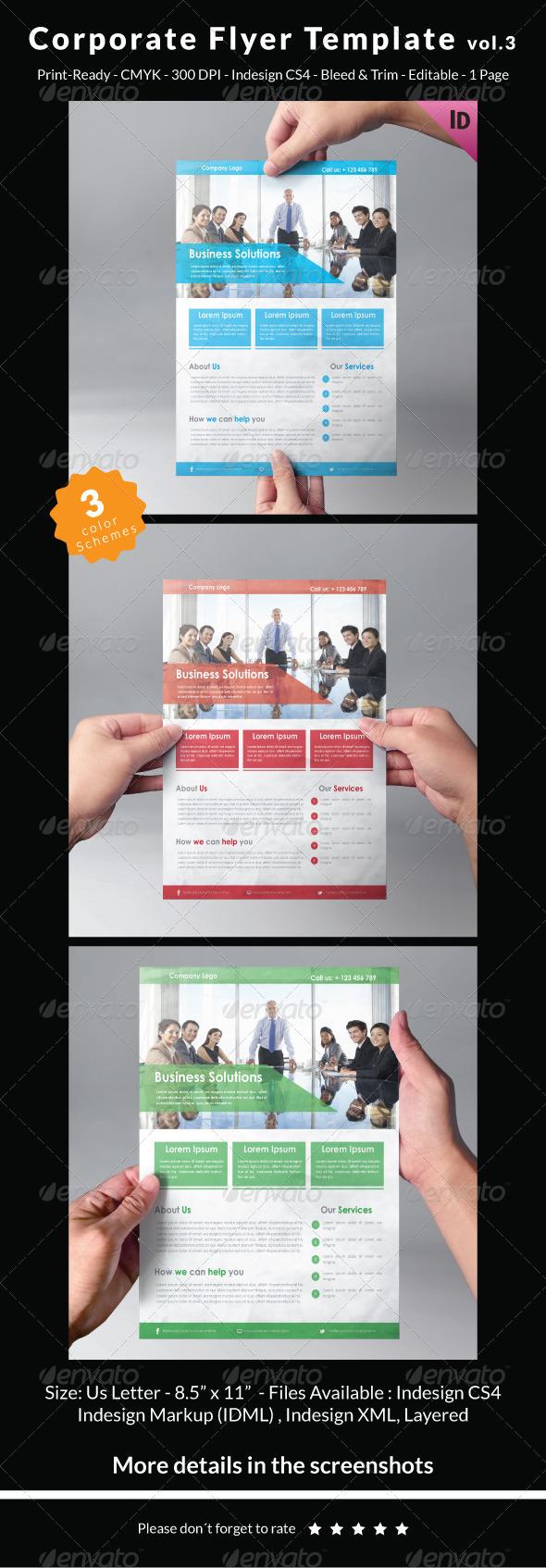 Corporate Flyer Template Vol.3 - Corporate Flyers