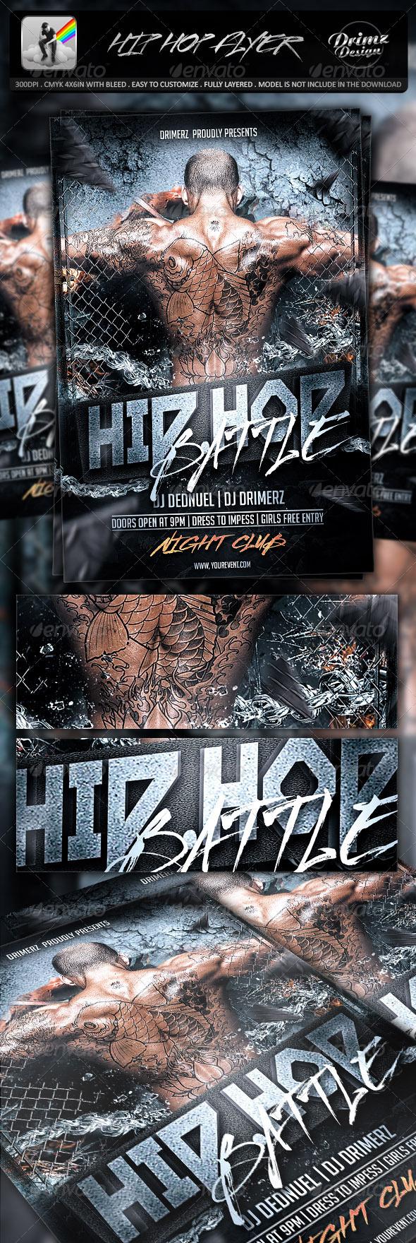 Hip Hop Flyer - Events Flyers