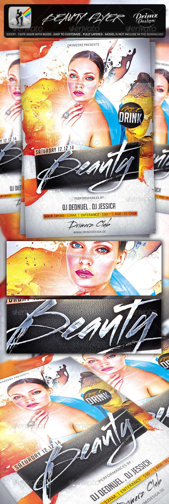 Beauty Flyer - Events Flyers