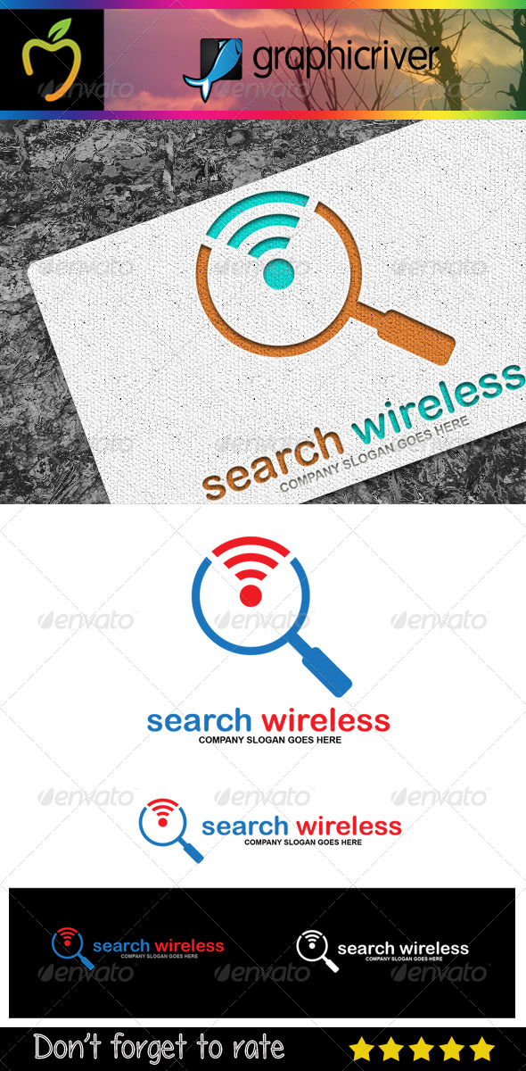 Search Wireless Logo - Symbols Logo Templates