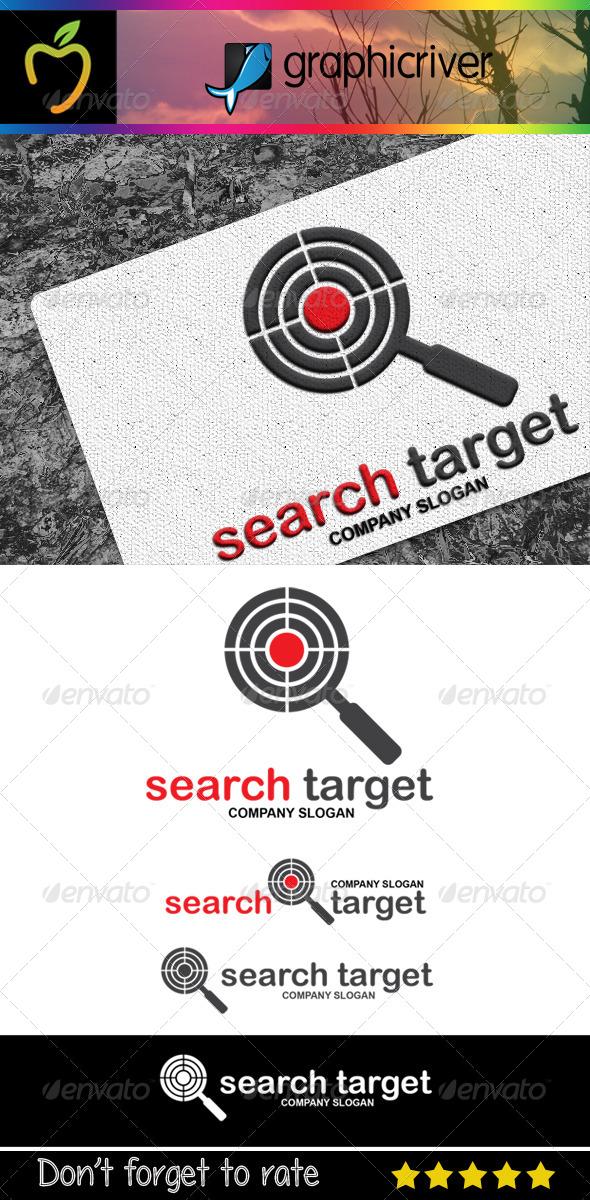 Search Target Logo - Symbols Logo Templates