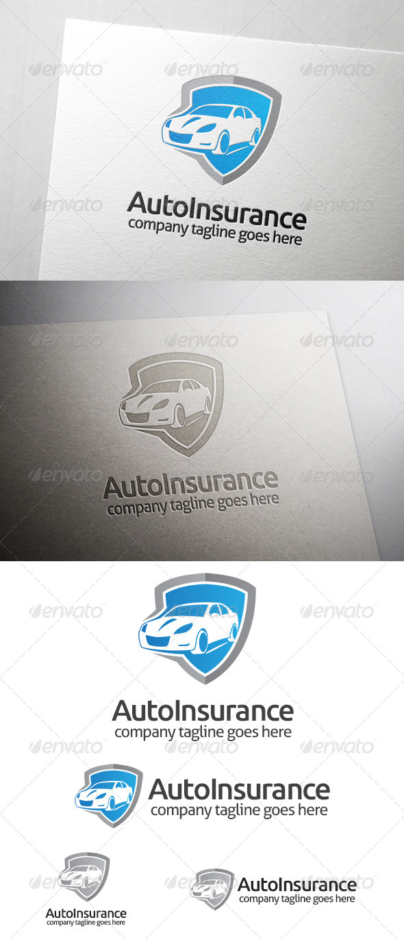 Automotive Insurance Logo - Objects Logo Templates