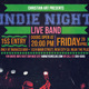 Indie Night Flyer - V1 - GraphicRiver Item for Sale