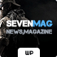 SevenMag Blog - WP Blog - ThemeForest Item for Sale