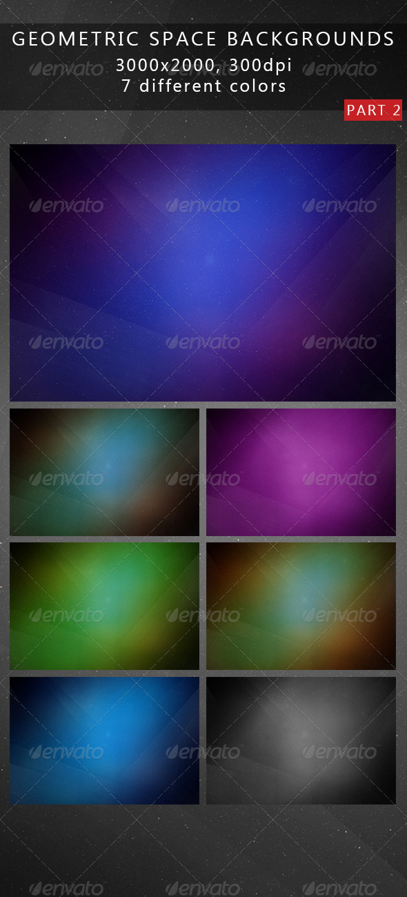Geometric Space Backgrounds 2 - Abstract Backgrounds