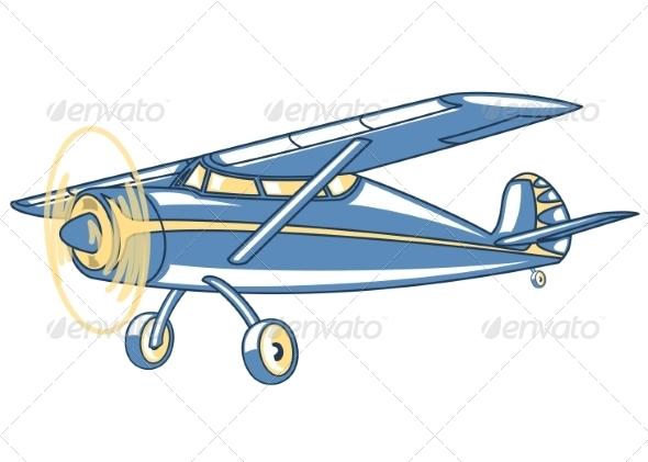 Airplane. - Retro Technology