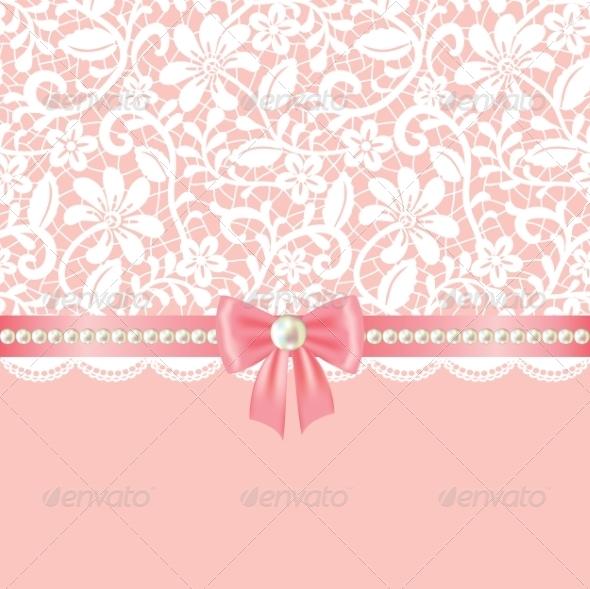 Lace Background - Backgrounds Decorative
