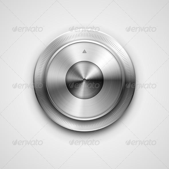 Metallic Knob - Media Technology
