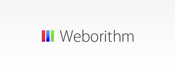 Weborithm banner