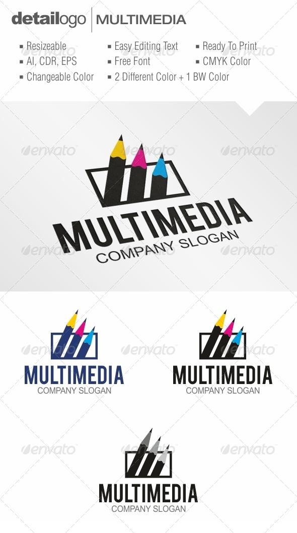 Multimedia - Objects Logo Templates