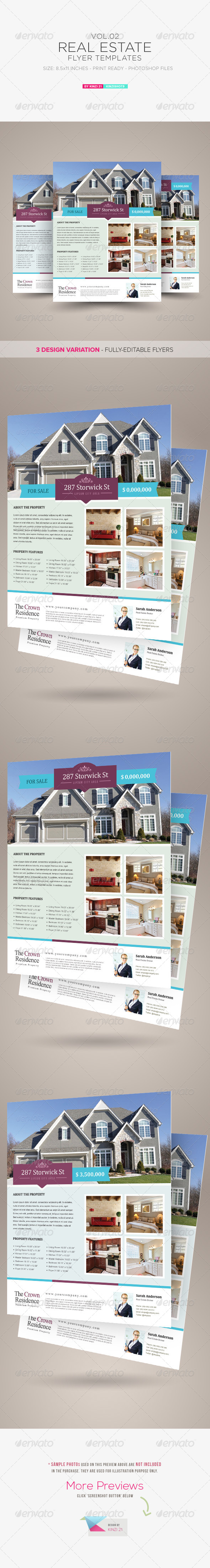 Real Estate Flyer Template Vol.02 - Corporate Flyers