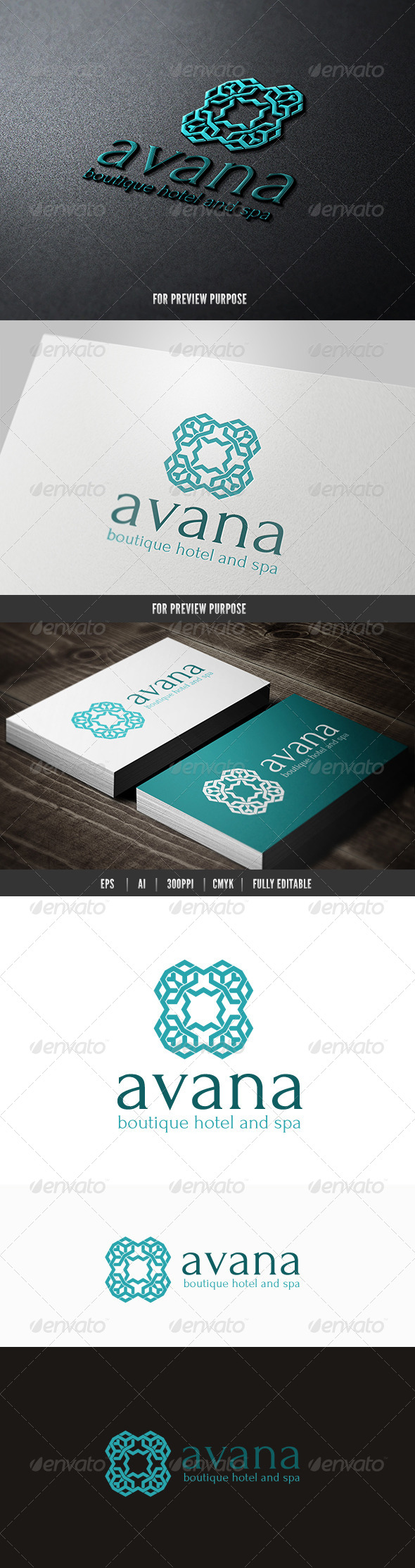 Boutique Hotel And Spa - Crests Logo Templates