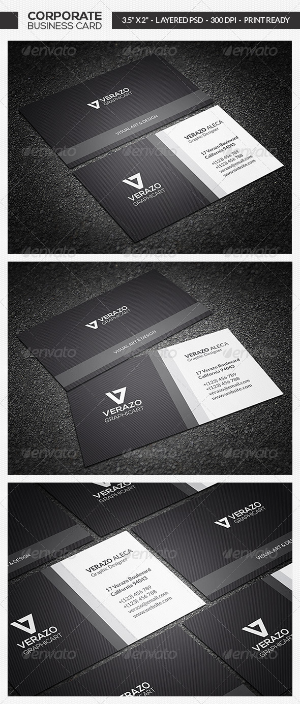 Minimal Business Card 13 - Corporate Business Cards