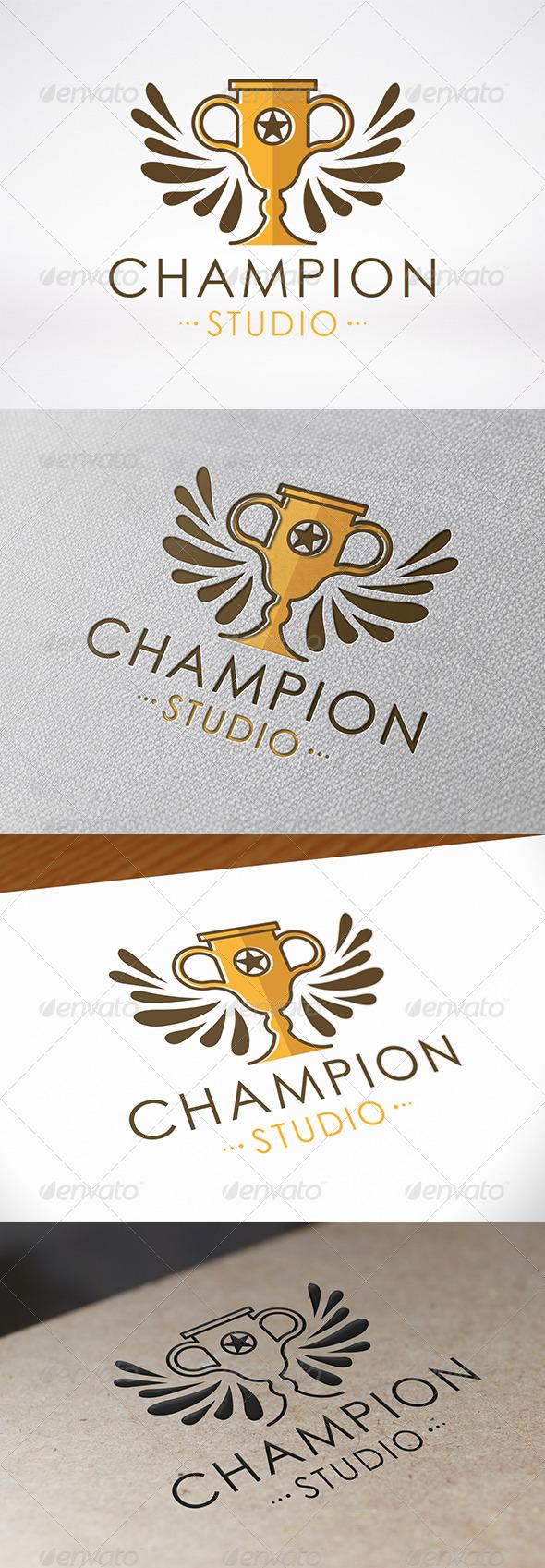 Winner Logo Template - Crests Logo Templates