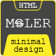 Moler - Full Screen Portfolio Template