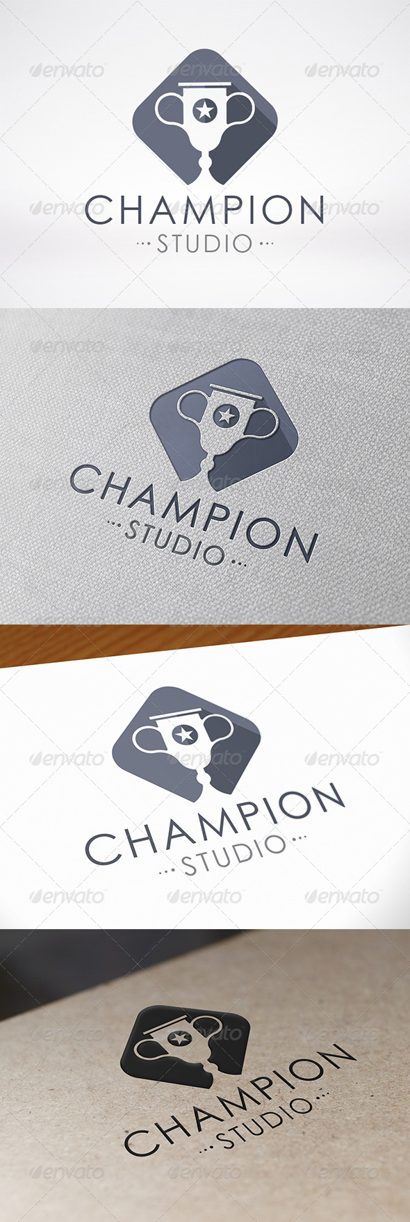 Champion Logo Template - Symbols Logo Templates