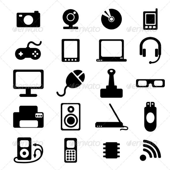 Flat Icons - Web Elements Vectors