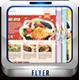 grandeur restaurant flyer - GraphicRiver Item for Sale