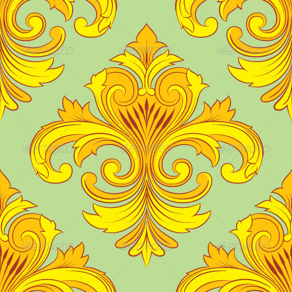 Vintage Ornament Pattern  - Patterns Decorative