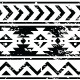 Aztec Tribal Seamless Grunge Pattern  - GraphicRiver Item for Sale
