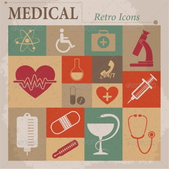 Medical Icons - Web Elements Vectors