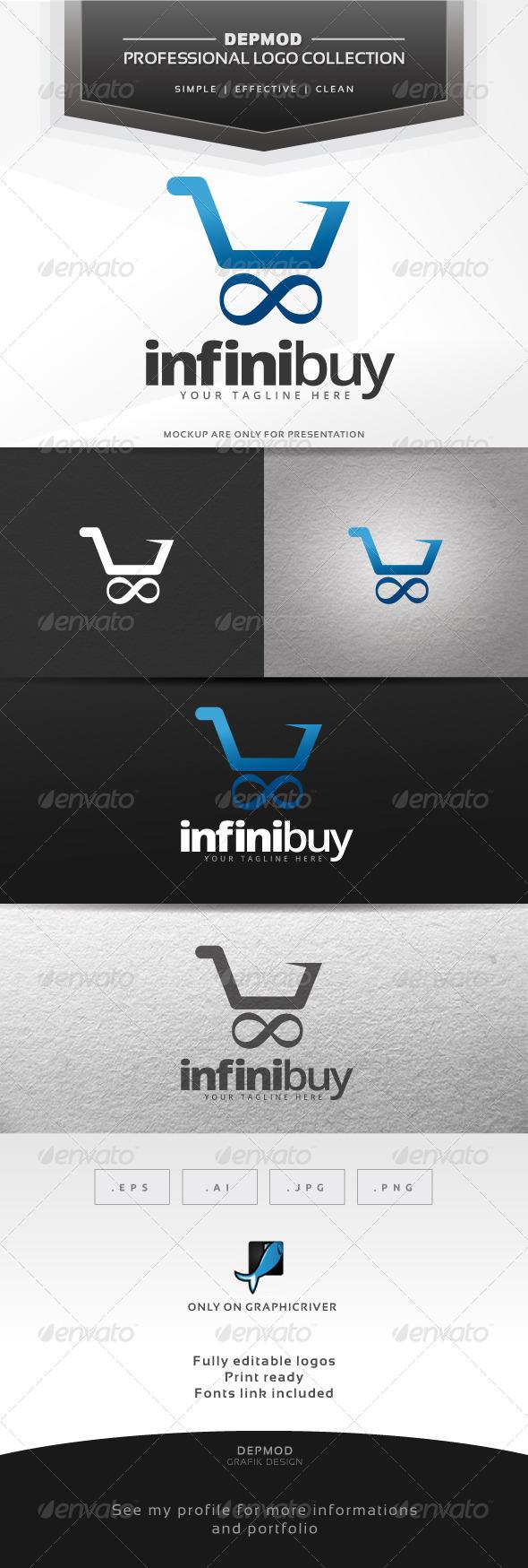 Infini Buy Logo - Symbols Logo Templates
