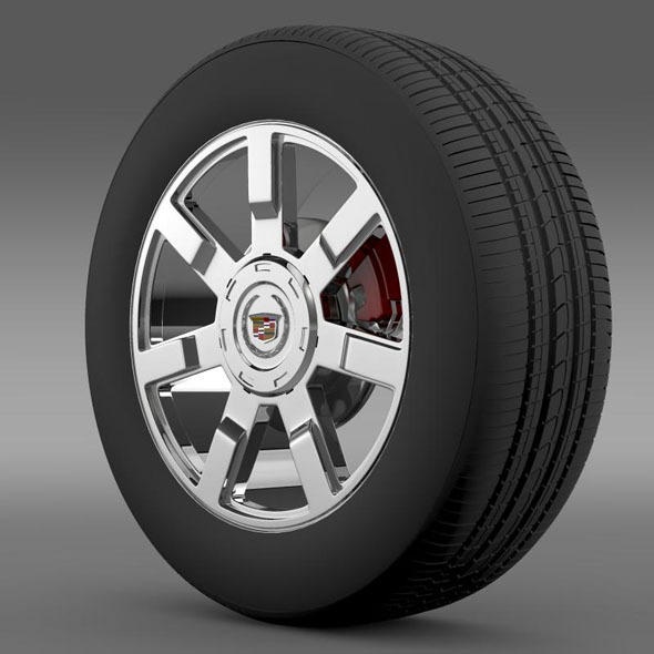 Cadillac Escalade esv 2wd2 wheel - 3DOcean Item for Sale