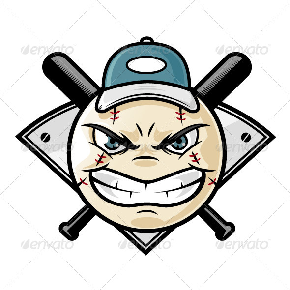 Baseball Emblem - Sports/Activity Conceptual