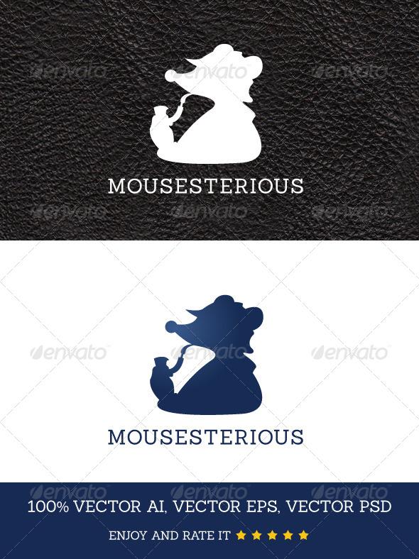 Mousesterious - Animals Logo Templates