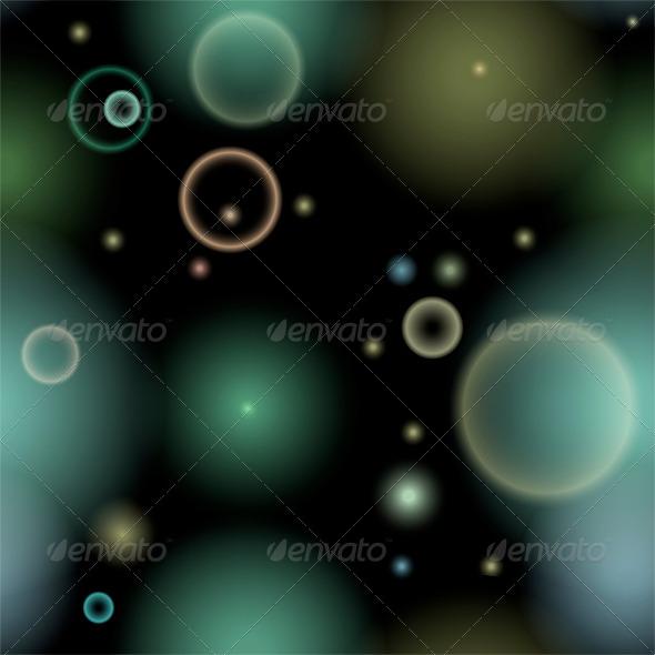 Seamless Bubbles Pattern - Patterns Decorative