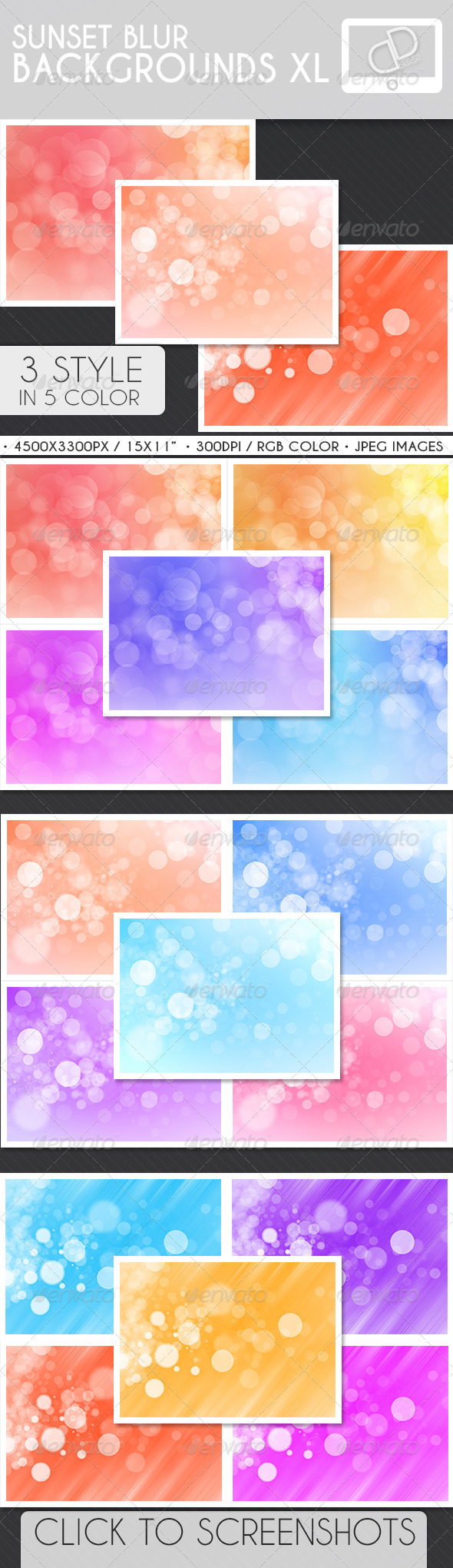 Sunset Blur Backgrounds - Backgrounds Graphics