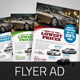 Automotive Car Sale Rental Flyer v7 - GraphicRiver Item for Sale