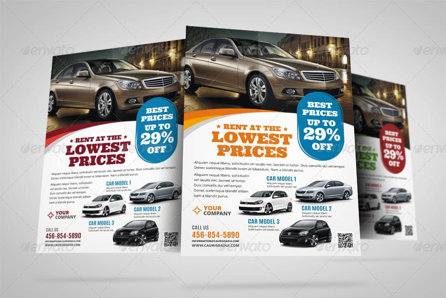 Automotive Car Sale Rental Flyer v7 by JbnComilla – Car Sale Flyer
