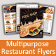 Multipurpose Restaurant Flyer - GraphicRiver Item for Sale
