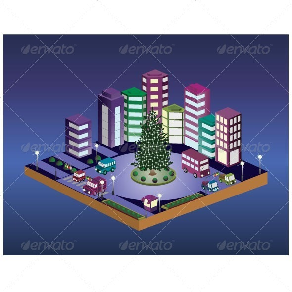 Christmas Tree - Buildings Objects