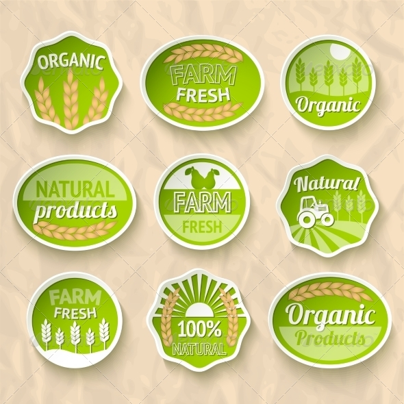 Farming Harvesting and Agriculture Stickers - Concepts Business