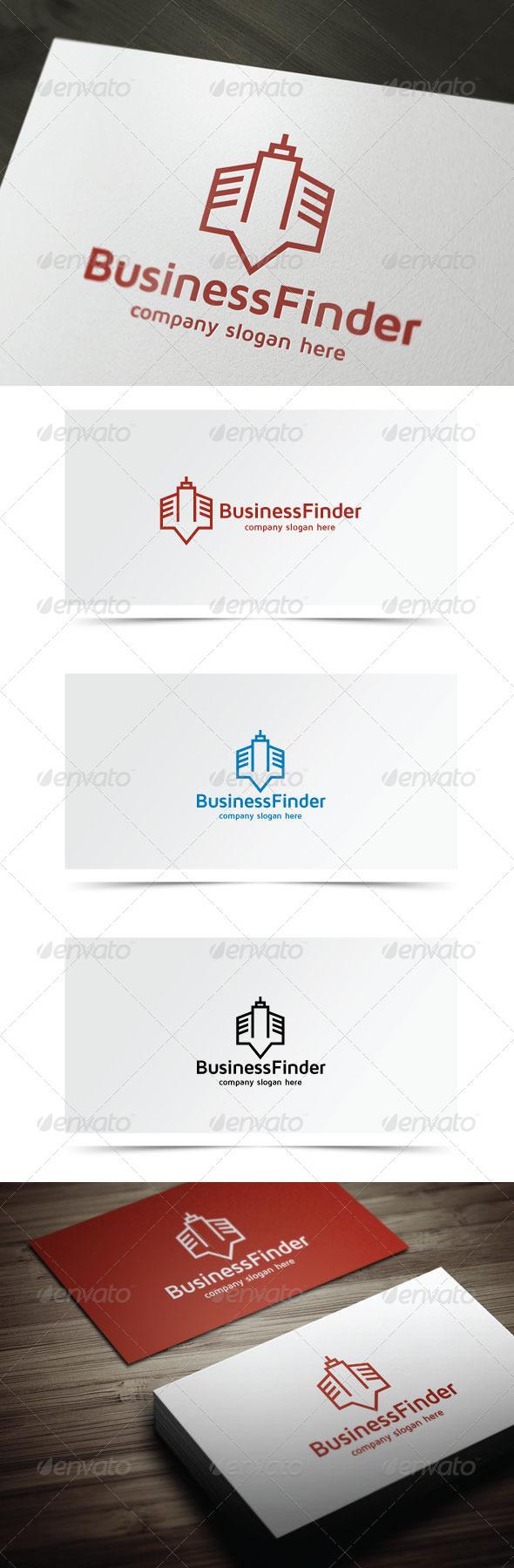 Business Finder - Buildings Logo Templates