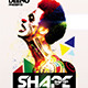 Shape Shifter Flyer Template PSD - GraphicRiver Item for Sale