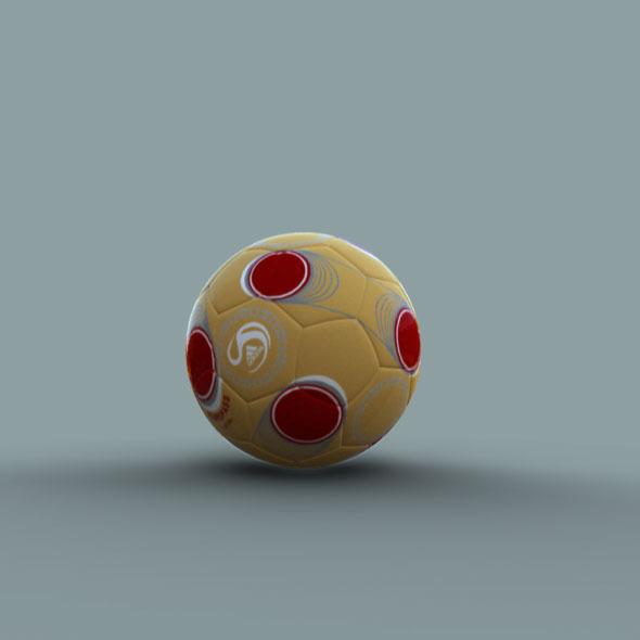 Bouncing Ball Rig 3D Model