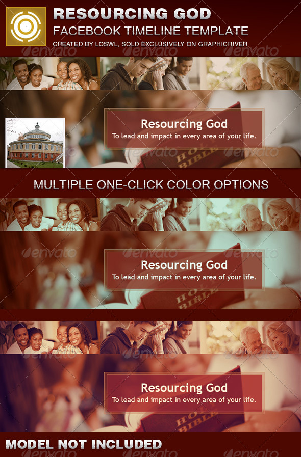 Resourcing God Church Facebook Timeline Cover  - Facebook Timeline Covers Social Media