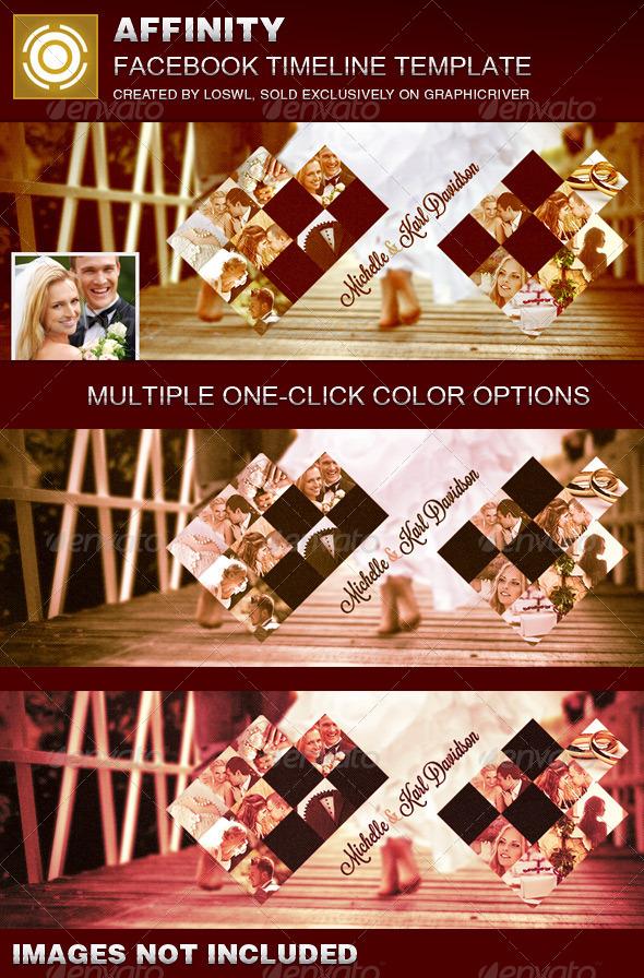 Affinity Wedding Facebook Timeline Cover Template - Facebook Timeline Covers Social Media